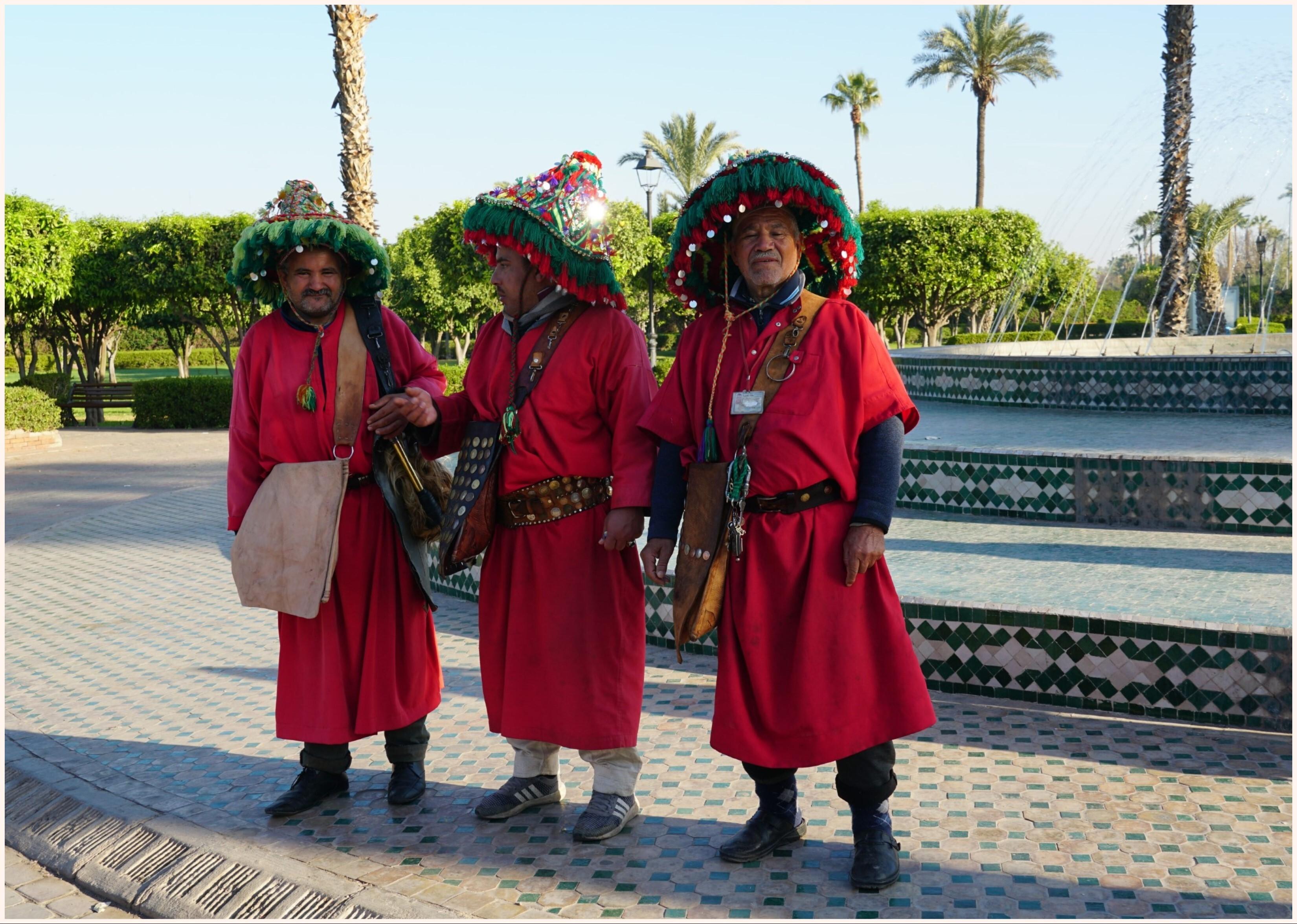 柏柏爾人穿著傳統服飾