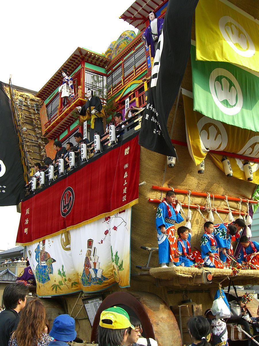 每年5月3至5日的青柏祭(Photo by Endroit)