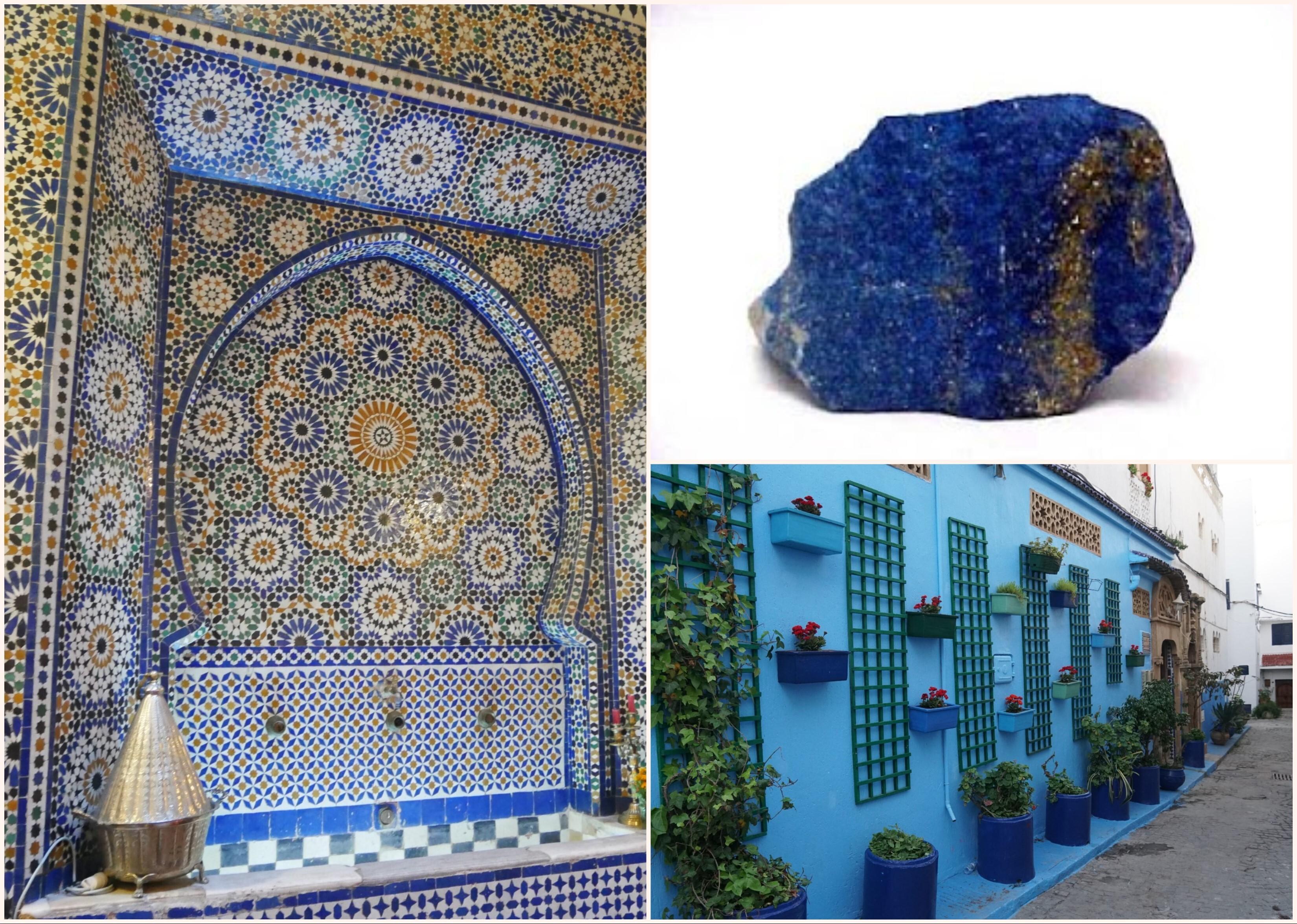 馬若雷勒由這些靈感調配出獨特的 Majorelle Blue