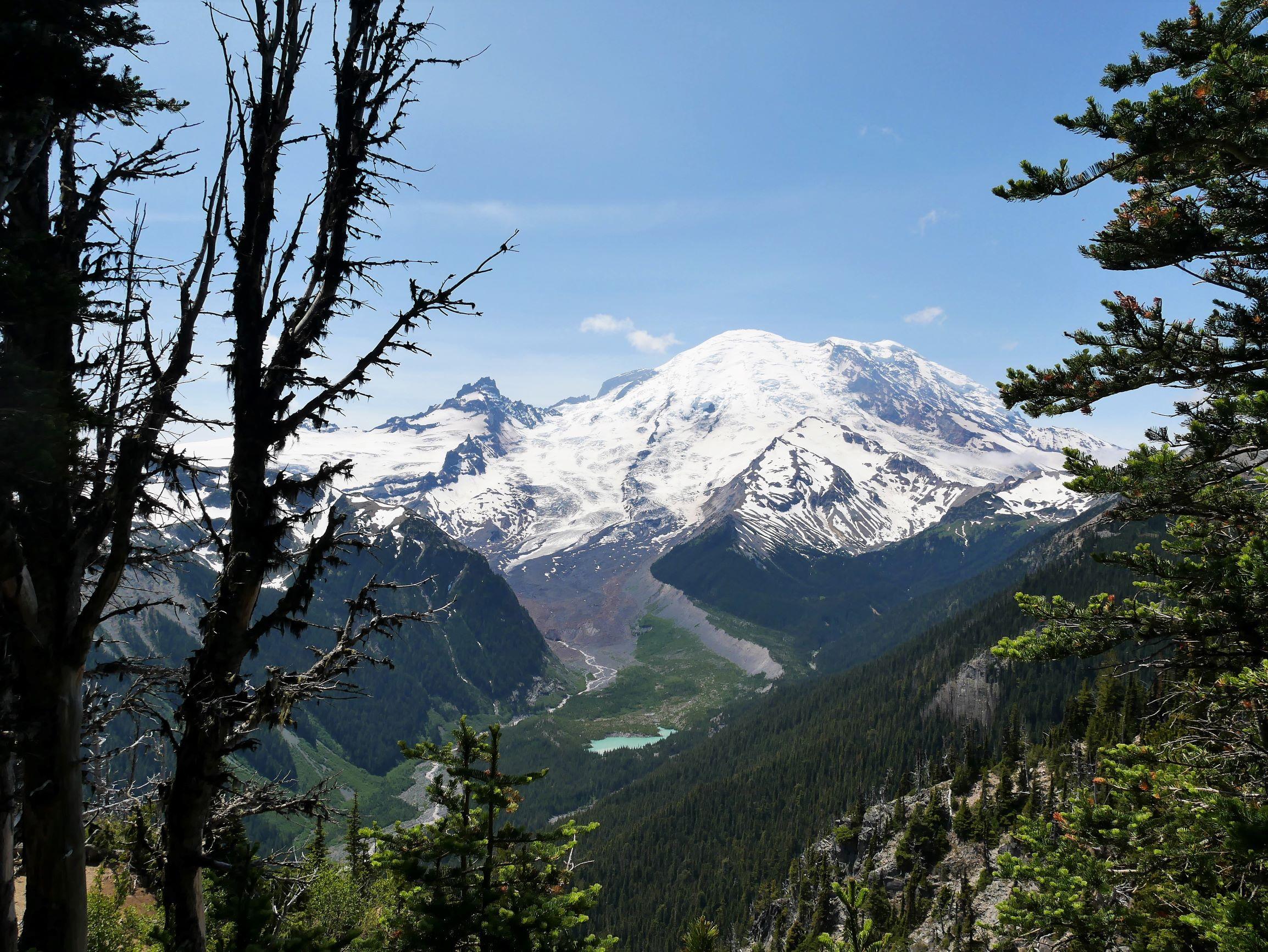 終年積雪的雷尼爾山