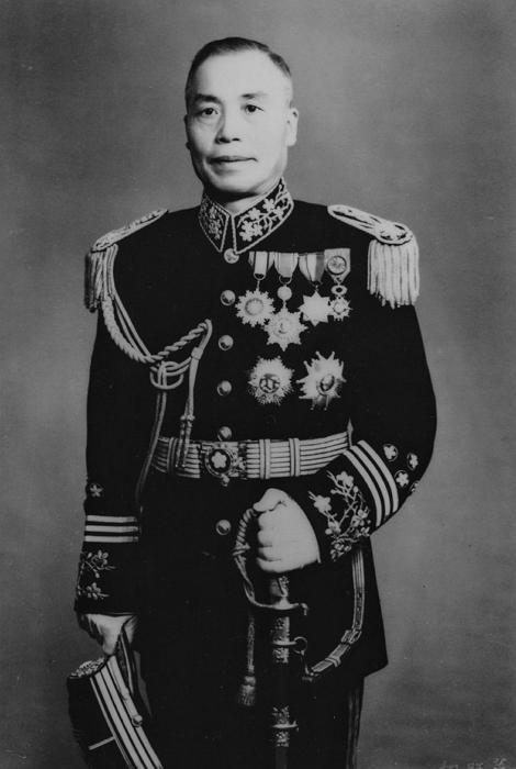 李宗仁戎裝照 引自wiki