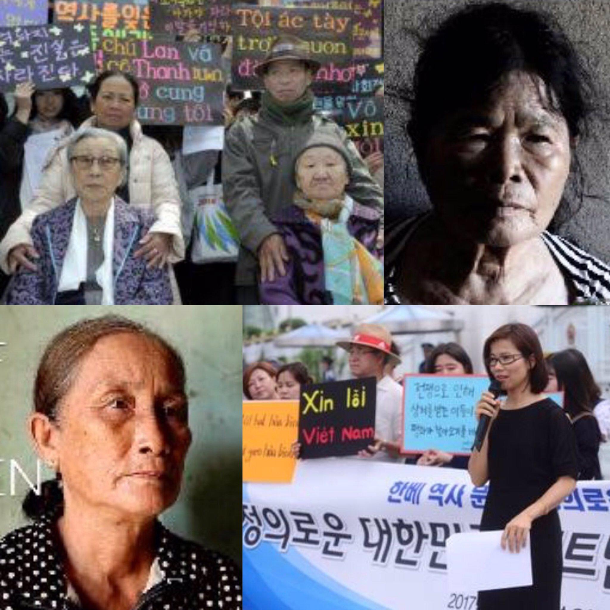 越南民眾要求韓國為越戰行為道歉