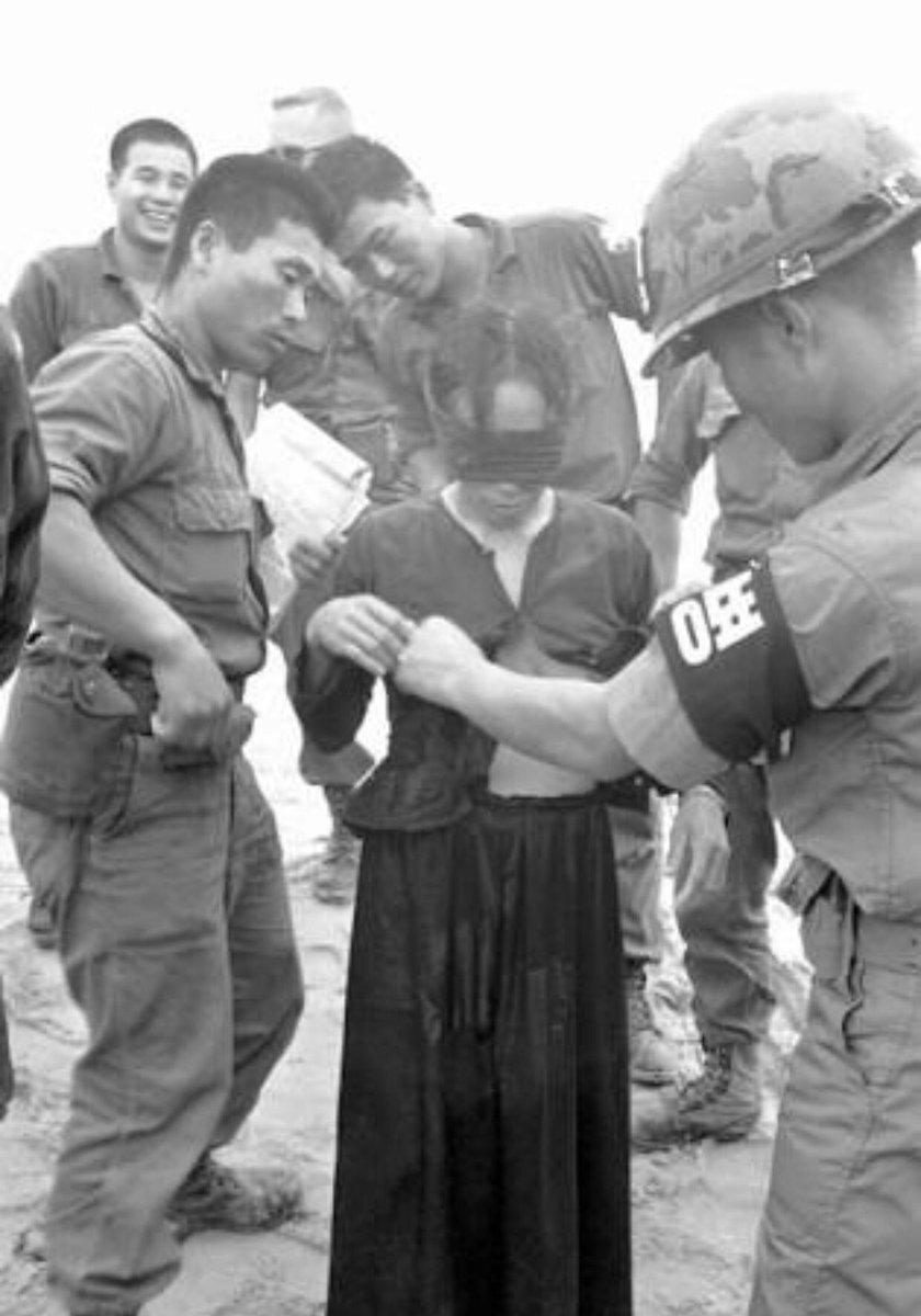 韓國軍隊在越戰期間惡名昭彰