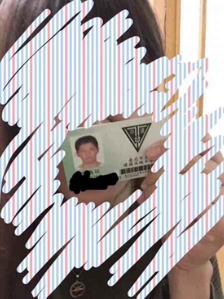 網友秀出學生證,引起陳為廷是否曾在高中涉及捷運性騷討論。(圖擷取自PTT)