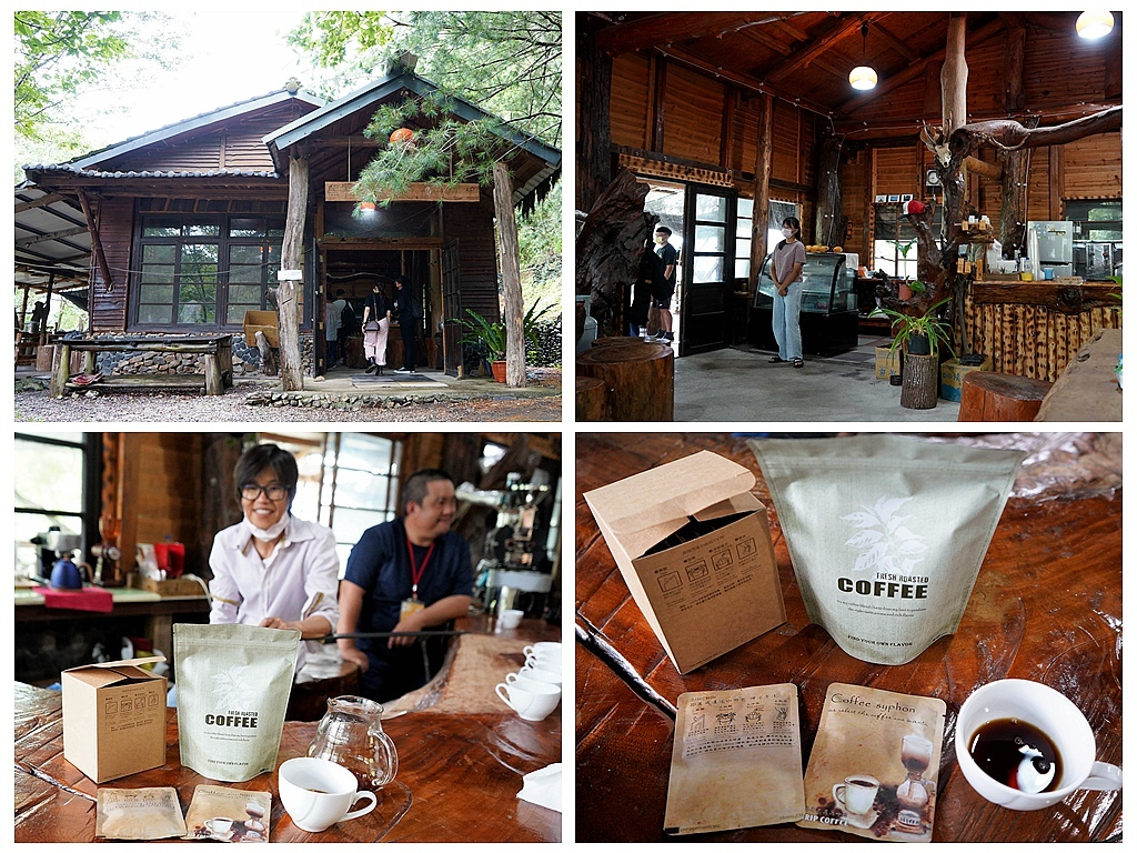 黑米之家原民風味餐、黑米咖啡,都是在地不容錯過的特色美食。